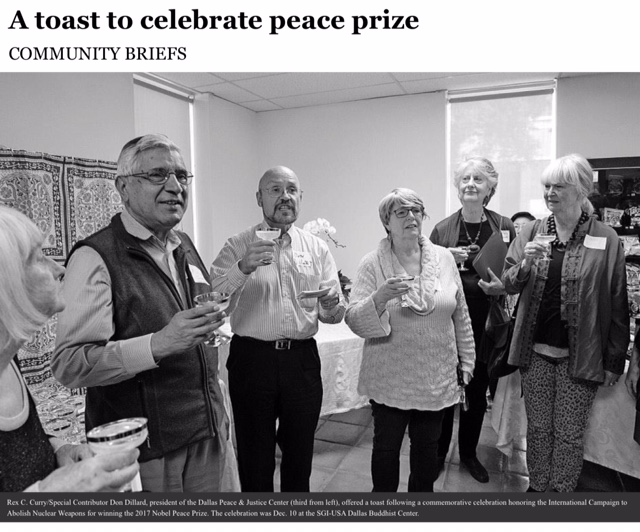 DMN Community Section - ICAN toast