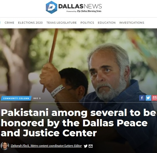 dmn news reporting that hadi jawad will be honored at the 2018 peacemaker awards banquet